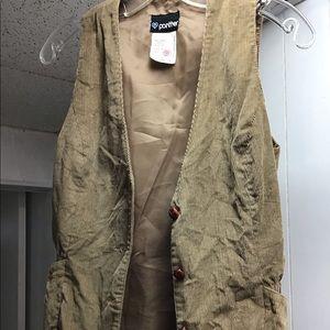 VINTAGE:: Vest and skirt